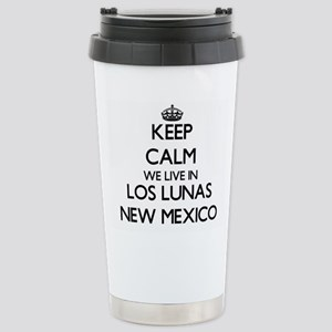 Keep calm we live in Lo Stainless Steel Travel Mug