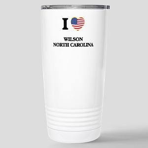I love Wilson North Car Stainless Steel Travel Mug