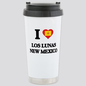 I love Los Lunas New Me Stainless Steel Travel Mug