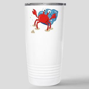 Dancing Crab Travel Mug