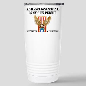 My Permit 16 oz Stainless Steel Travel Mug