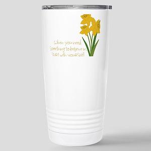 Something To Believe Travel Mug