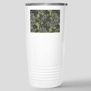 William Morris Seaweed Stainless Steel Travel Mug