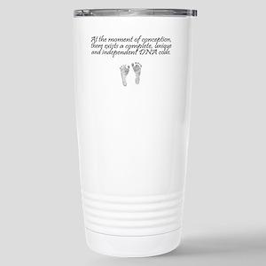 MomentOfConception2 Stainless Steel Travel Mug
