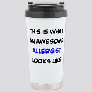 awesome allergist 16 oz Stainless Steel Travel Mug