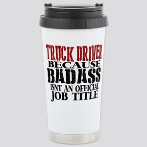 Badass Trucker Travel Mug
