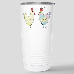 Funny Easter Egg Chicke Stainless Steel Travel Mug