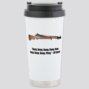 M1 Garand Stainless Steel Travel Mug