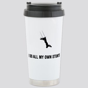 Trapeze-03-A Stainless Steel Travel Mug