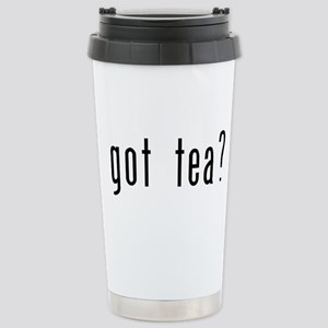 got tea? Stainless Steel Travel Mug