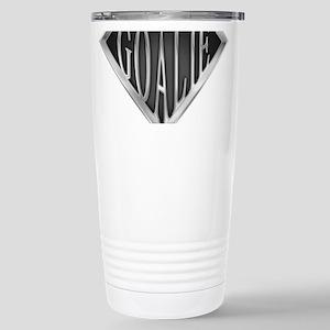 SuperGoalie(metal) Stainless Steel Travel Mug