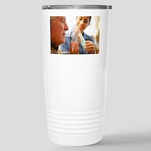 Nebuliser use Stainless Steel Travel Mug