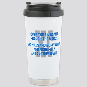 Over the River Cross Co Stainless Steel Travel Mug