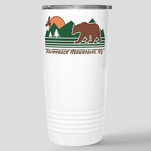 Adirondack Mountains NY Stainless Steel Travel Mug