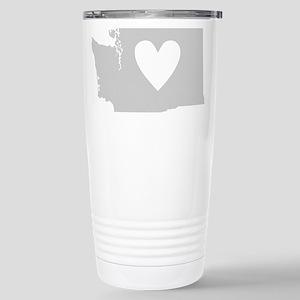 Heart Washington Stainless Steel Travel Mug
