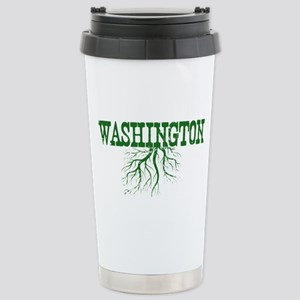 Washington Roots Stainless Steel Travel Mug