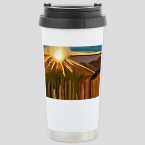 Dance of the Cacti Abst Stainless Steel Travel Mug