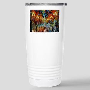 art Stainless Steel Travel Mug
