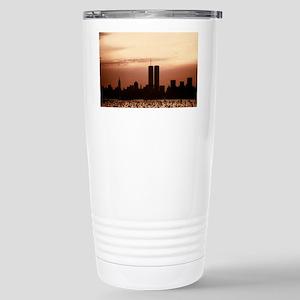 Dawn Over Liberty Stainless Steel Travel Mug