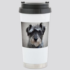 Schnauzer Stainless Steel Travel Mug