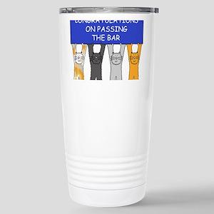 Congratulations on passing the bar. Mugs