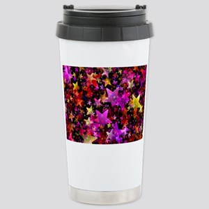 Rainbow Stars Stainless Steel Travel Mug