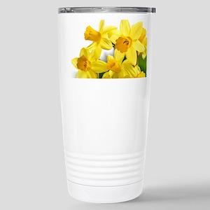 Daffodils Style Travel Mug