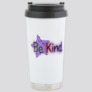 Be Kind with Colorful Text and Purple Star Travel