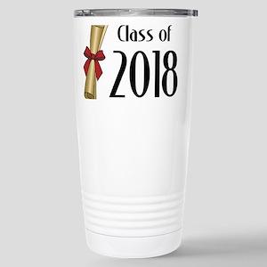 Class of 2018 Diploma Stainless Steel Travel Mug