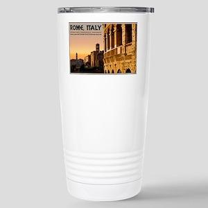 Rome - Roman Forum Sunset Stainless Steel Travel M