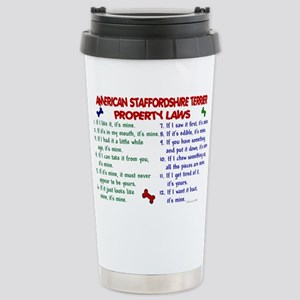 American Staffordshire Terrier Property Laws 2 Mug