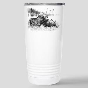 Moose Stainless Steel Travel Mug