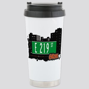 E 219 St Stainless Steel Travel Mug