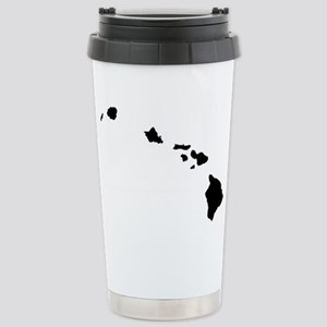Hawaiian Islands Stainless Steel Travel Mug