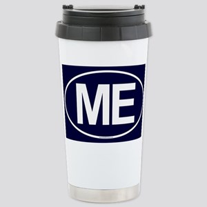 2-ME Oval Stainless Steel Travel Mug