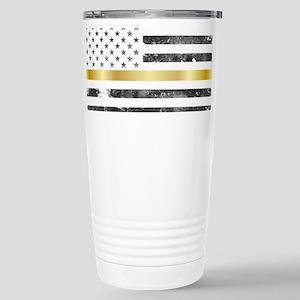 Thin Yellow Line - Thin Gold Line Mugs