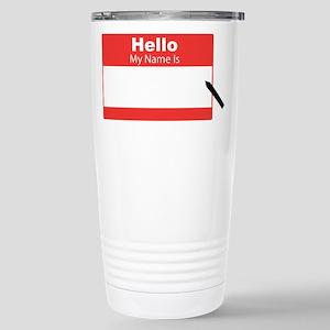 My Name Is Travel Mug
