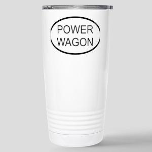 POWERWAGON Stainless Steel Travel Mug
