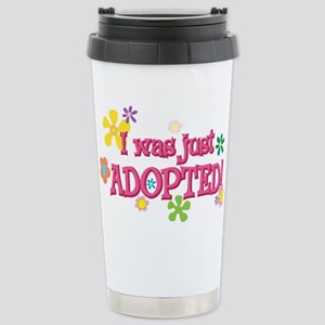 JUSTADOPTED44 Stainless Steel Travel Mug