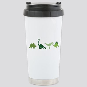 Dino Border Travel Mug
