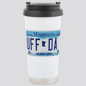 "Minnesota ""Uffda"" Stainless Steel Travel Mug"