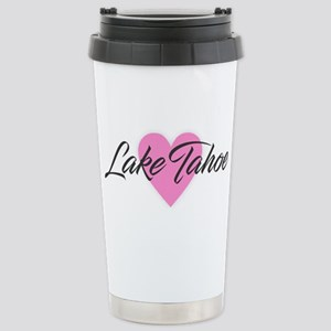 I Heart Lake Tahoe Stainless Steel Travel Mug
