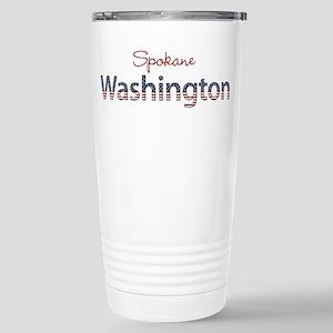 Custom Washington Stainless Steel Travel Mug