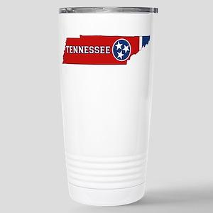 Tennessee Flag Stainless Steel Travel Mug