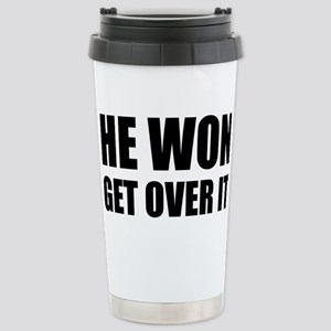 He Won Get Over It! Bol Stainless Steel Travel Mug