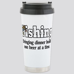 one beer at a time Stainless Steel Travel Mug