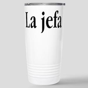 La Jefa Stainless Steel Travel Mug