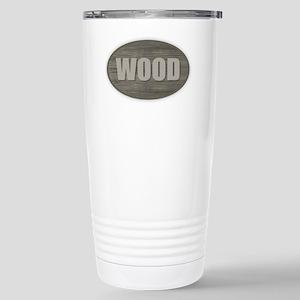 Wood Stainless Steel Travel Mug