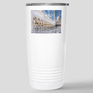 Sheikh Zayed Mosque Stainless Steel Travel Mug