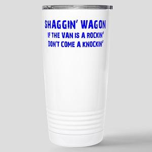 Shaggin Wagon Van Rockin Current Travel Mug